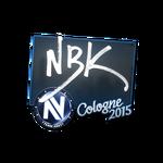 NBK - naklejka