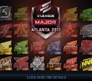 Atlanta 2017 - Naklejki turniejowe