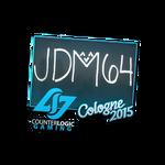 Jdm64 - naklejka