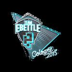 Team eBettle (Folia) ESL One Cologne 2015