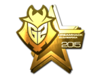 G2 Esports Cluj'15 (złoto)