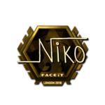 Niko (Gold) London'18