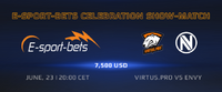 E-sport-bet Celebration Show Match
