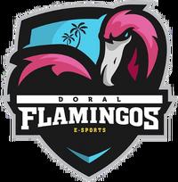 Doral Flamingos e-Sports - logo