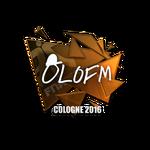 Olofmeister (Folia) - Cologne'16
