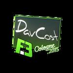 DavCost - naklejka