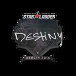 Destinyy Berlin'19