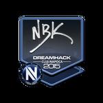 NBK- - naklejka Cluj'15