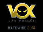 Vox Eminor (Folia) EMS One Katowice 2014