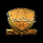 Kjaerbye (Gold) Kraków'17