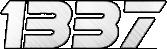 1337 - logo