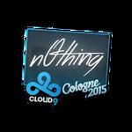N0thing - naklejka