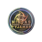 Ninjas in Pyjamas (Holo) ESL One Cologne 2014