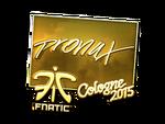 Pronax - naklejka Cologne 2015 (złoto)