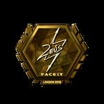 Zeus (Gold) London'18
