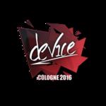 Device - Cologne'16