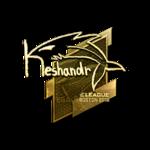 Keshandr (Gold) Boston'18