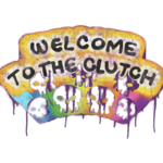 Welcome to the Clutch (graffiti)
