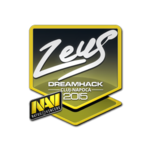Zeus - naklejka Cluj'15