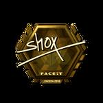 Shox (Gold) London'18