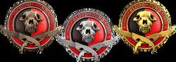 Odznaki Operacji Bloodhound