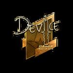 Device (Gold) Boston'18