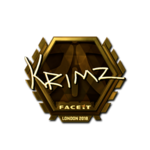 KRIMZ (Gold) London'18