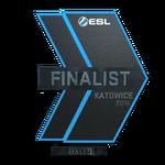 Katowice 2014 Finalist Trophy