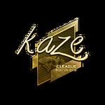 Kaze (Gold) Boston'18