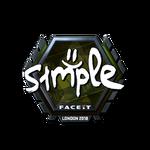 S1mple (Folia) London'18