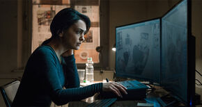 Nazanin Boniadi as Clare in Starz Original Series Counterpart