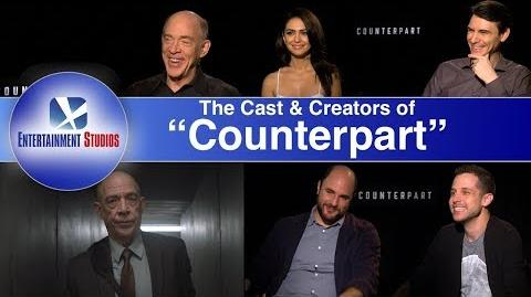"""Counterpart"" interview with the stars and creators"
