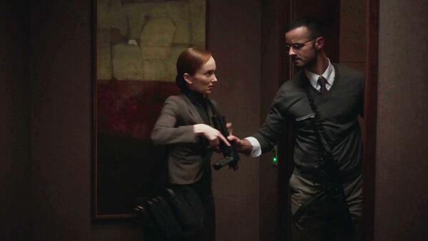 Lottee-Verbeek-Junes-Zahdi-Helen-Moller-Rashad-Roumani-Diplomacy-weapons-Counterpart-STARZ-Season-1-Episode-9-No-Mans-Land
