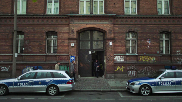 Police-Station-at-Friedenstrase-31-Berlin-Counterpart-Starz-Season-1-Episode-3-The-Lost-Art-of-Diplomacy