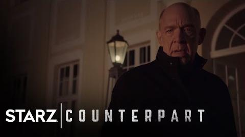 Counterpart Inside the World of Counterpart Season 1, Episode 8 STARZ