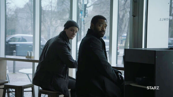 Nicholas-Pinnock-Ian-Shaw-and-Ian-Counterpart-STARZ-Season-2-Episode-02-Outside-In