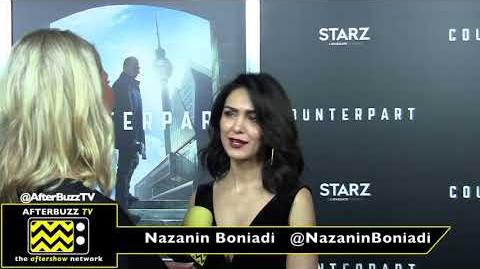 Nazanin Boniadi at the 'Counterpart' Premiere 2018