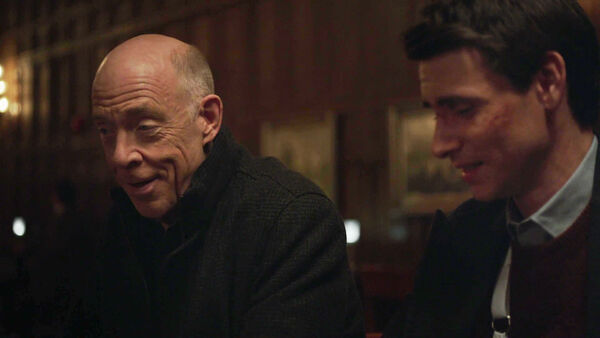 JK-Simmons-Harry-Lloyd-D2-Howard-and-Peter-Quayle-laughing--Counterpart-STARZ-Season-1-Episode-10-No-Mans-Land