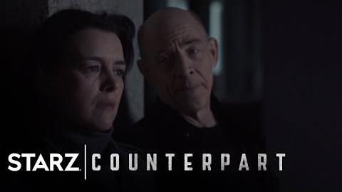 Counterpart Inside the World of Counterpart Season 1, Episode 9 STARZ