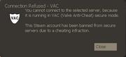 VAC ban