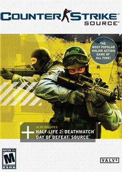 Counter strike source front cover
