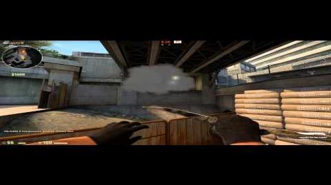 CS GO - Terrorist smoke tricks on Overpass