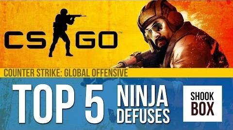 CS GO Top 5 Ninja Defuse Plays - Episode 1