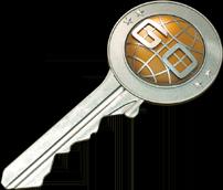 Weapon case key