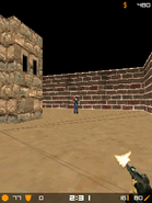 Micro counter strike gameplay