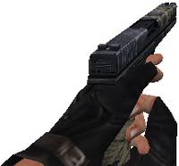 V glock18 battle