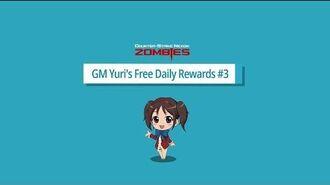 CSN Z GM Yuri's Free Daily Rewards 3-1