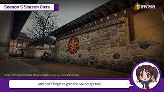 Patch Notes Season 5 Counter-Strike Nexon Studio