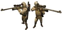 Bot sniper idle