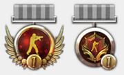 Season 1 medals
